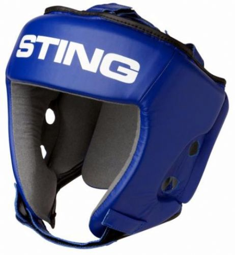 Sting AIBA Headguard - Blue